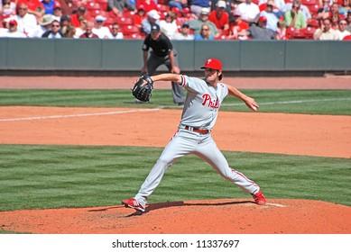 Cole Hamels of the Philadelphia Phillies