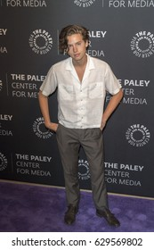 Cole Sprouse attends PaleyLive LA event with the cast of 'Riverdale', April 27th, 2017 in Paley Center for Arts, Beverly Hills CA..
