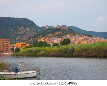 Colerful town on the river