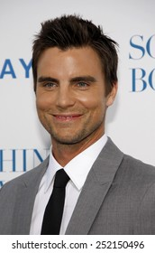 "Colin Egglesfield at the Los Angeles Premiere of ""Something Borrowed"" held at the Grauman's Chinese Theaterr in Los Angeles, California, United States on May 3, 2011."