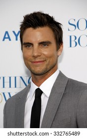 """Colin Egglesfield at the Los Angeles Premiere of """"Something Borrowed"""" held at the Grauman's Chinese Theater in Los Angeles, California, United States on May 3, 2011."""