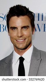 "Colin Egglesfield at the Los Angeles Premiere of ""Something Borrowed"" held at the Grauman's Chinese Theater in Los Angeles, California, United States on May 3, 2011."