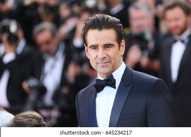 Colin Farrell attends the 'The Killing Of A Sacred Deer' screening during the 70th Cannes Film Festival at Palais des Festivals on May 22, 2017 in Cannes, France.
