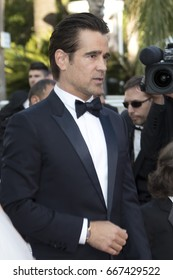 Colin Farrell attends 'The Killing Of A Sacred Deer' screening during the 70th annual Cannes Film Festival at Palais des Festivals on May 22, 2017 in Cannes, France.