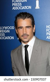 Colin Farrell at the Hollywood Foreign Press Association's 2013 Installation Luncheon, Beverly Hilton, Beverly Hills, CA 08-13-13