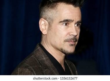 Colin Farrell at the World premiere of 'Dumbo' held at the El Capitan Theatre in Hollywood, USA on March 11, 2019.