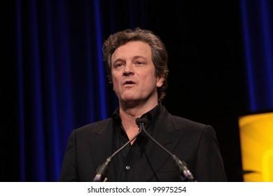 Colin Firth  at the 26th Annual Santa Barbara International Film Festival Montecito Award To Geoffrey Rush, Arlington Theatre, Santa Barbara, CA. 01-31-11