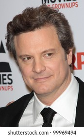 Colin Firth at AARP Magazine's Movies For Grownups, Beverly Wilshire Hotel, Bevely Hills, CA. 02-07-11