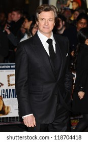 Colin Firth arriving for the World Premiere of Gambit, at the Empire Leicester Square, London. 07/11/2012 Picture by: Steve Vas