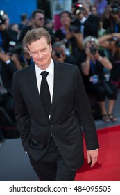 Colin Firth at the premiere of Nocturnal Animals at the 2016 Venice Film Festival. September 2, 2016  Venice, Italy