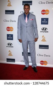 Colin Kaepernick at the 2013 Clive Davis And Recording Academy Pre-Grammy Gala, Beverly Hilton Hotel, Beverly Hills, CA 02-09-13