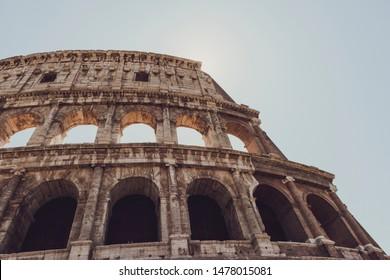coliseum bottom view, coliseum, Roman Coliseum