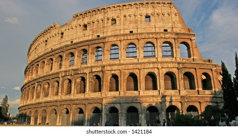 The coliseum, Italian Landmark