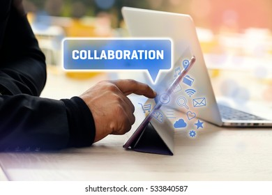 Collaboration, Business Concept