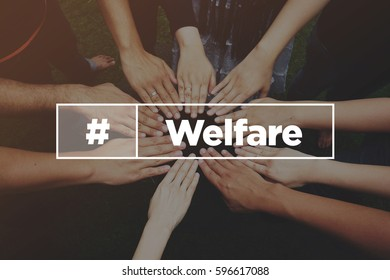 Collaboration Concept with text: Welfare