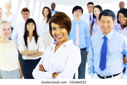 Collaboration Corporate Cooperation Professional Concept