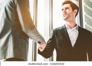 Collaboration work co-operating with the affirmative agreement in doing business To do project work together Use communication tool target teamwork Organizational success. Close up of business partner