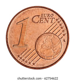 A collage of  1 euro cent coin