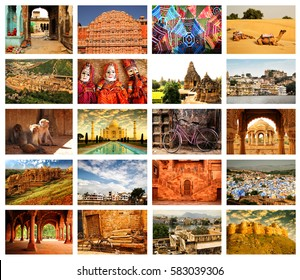 India Collage Images, Stock Photos & Vectors | Shutterstock