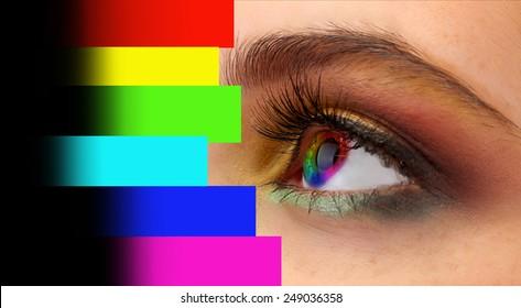 Colour Vision Test Images Stock Photos Vectors Shutterstock