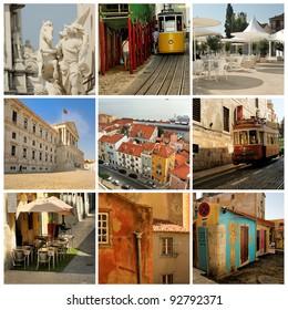 Collage of Lisbon