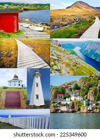Collage of Newfoundland see sights