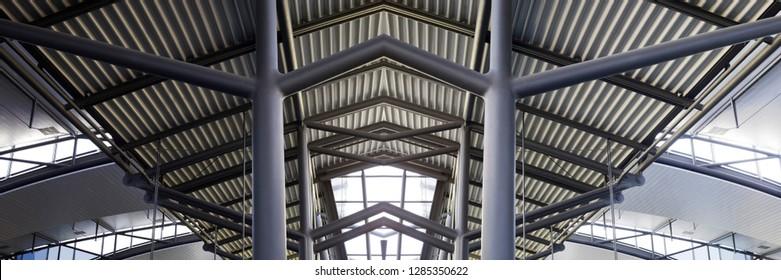 Structural Steel Roof Images Stock Photos Vectors Shutterstock