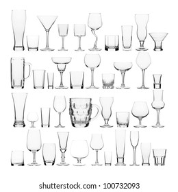 collage of various glasses