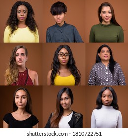 Collage of women in different ethnicities