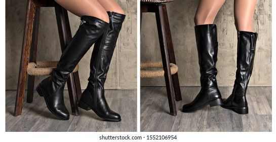 Collage Women's boots by model