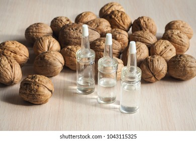 Collagen peptides, vegetable vitamins from the walnuts.