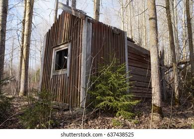 Collapsed Sauna