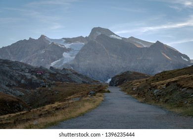 Colle del Nivolet mountain pass, Graian Alps, Gran Paradiso National Park, between the Aosta Valley and Piedmont regions, northern Italy