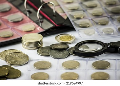 collect coins, numismatist