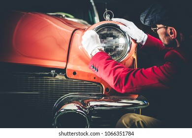 Collectible Car Appraisal by Professional Vintage Vehicles Collector. History of American Transportation Theme.
