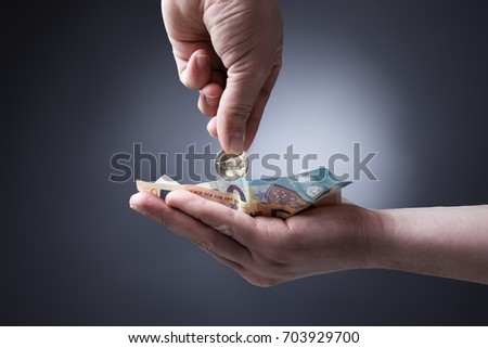 collecting money stock photo edit now 703929700 shutterstock