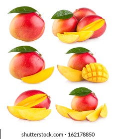 collection of 6 mango images