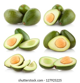 collection of avocado images