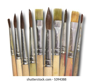 collection of brushes
