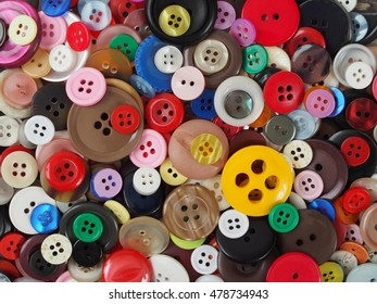 Collection of buttons, can be used as a background