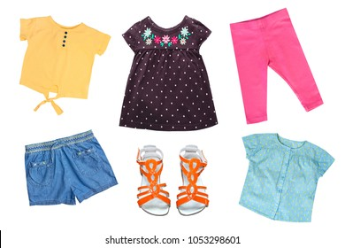 a5113ea18d45 Kids Fashion Autumn Spring Season Clothes Stock Photo (Edit Now ...