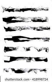 Imágenes, fotos de stock y vectores sobre Chinese Ink Brush