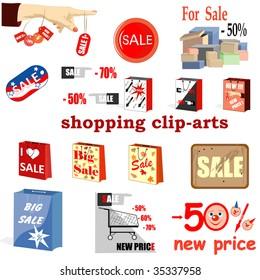 collection clip-arts