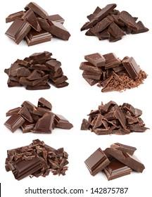 collection dark chocolate