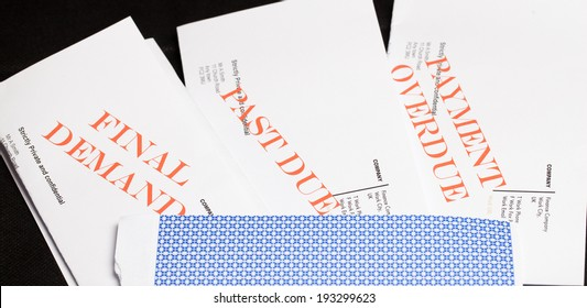 Collection of debt collection letters (no real customer info used!)