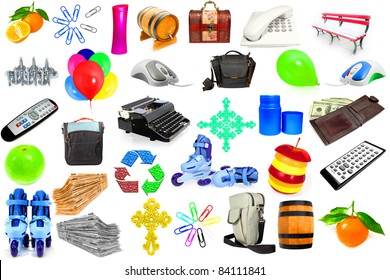 collection of different objects