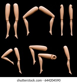 Collection of Doll Legs and Feet