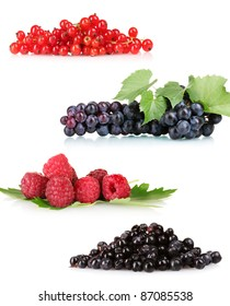 collection of fresh ripe berry