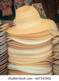c6591ab742392 Display Straw Hats Sale Cienfuegos Cuba Stock Photo (Edit Now ...