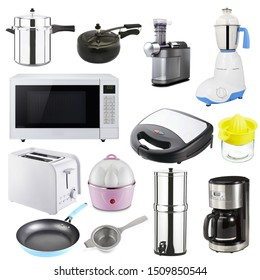 a Collection of kitchen appliances